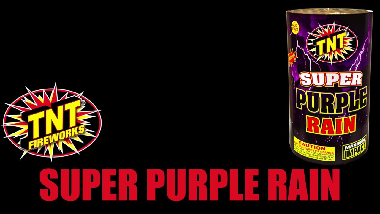 Super Purple Rain - TNT Fireworks® Official Video