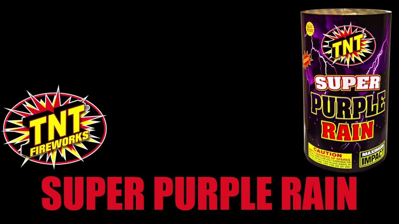 Super Purple Rain - TNT Fireworks® Official Video