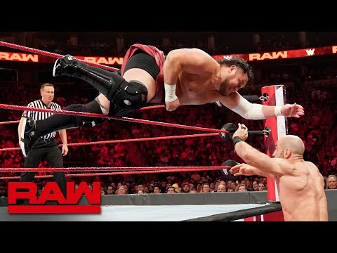 Cesaro vs. Samoa Joe – King of the Ring First-Round Match: Raw, Aug. 19, 2019