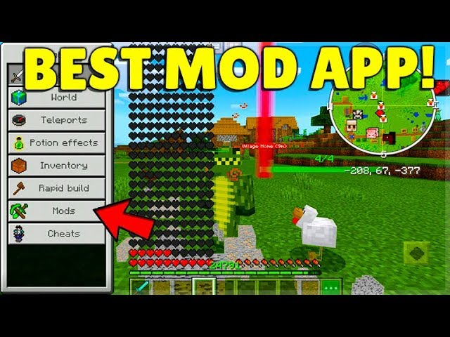 YOU CAN MOD Minecraft EASILY With This App The BEST FREE