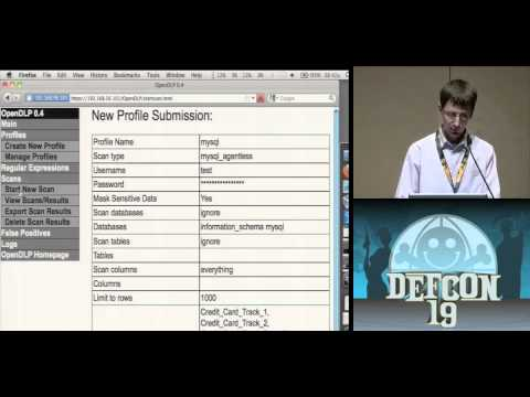DEFCON 19 (2011) - Gone in 60 Minutes: Stealing Sensitive Data from Thousands of Systems