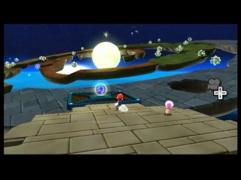 Super Mario Galaxy: Sand Spiral Galaxy - Choosing a Favorite Snack ...