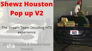 Shewz Houston pop-up V2 (The ultimate sneakerhead & car enthusiast experience!!)