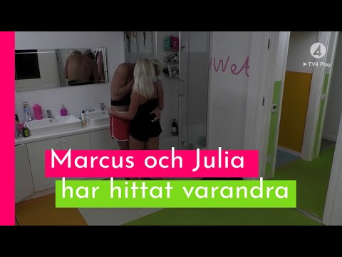 Se hånglet mellan Marcus och Julia I Love Island Sverige 2018 (TV4 Play)