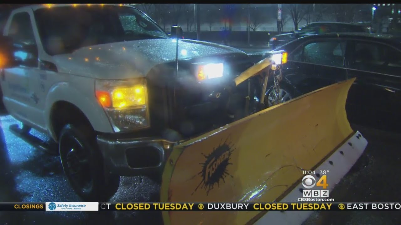 Boston Prepares For New Nor'easter