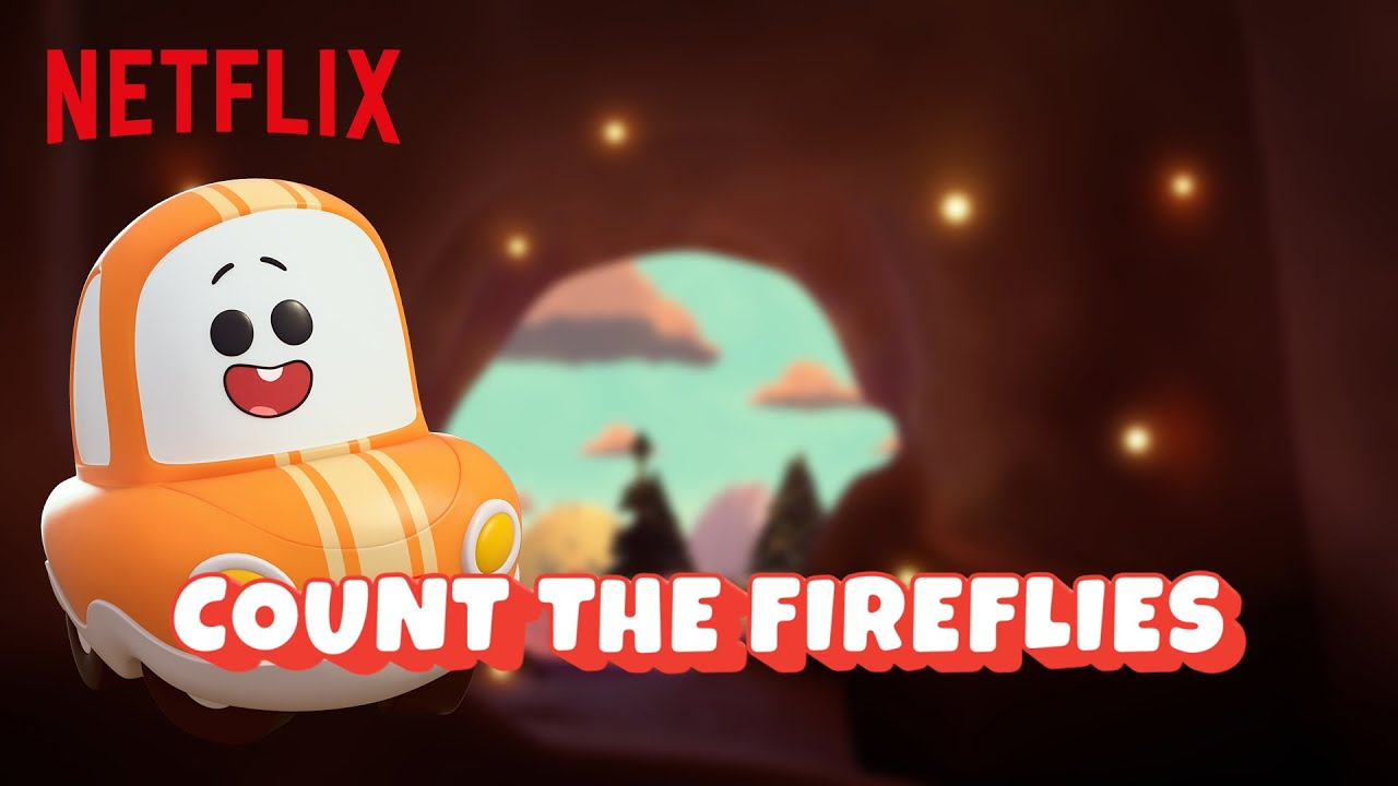 Count Fireflies with Cory & Freddie 🏕️ A Go! Go! Cory Carson Summer Camp | Netflix Jr