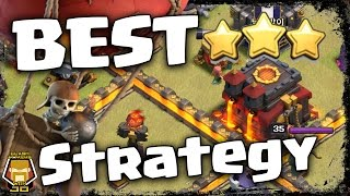 The Best TH 10 v TH 10 3 Star Army Compositions 2017 | Clash of Clans