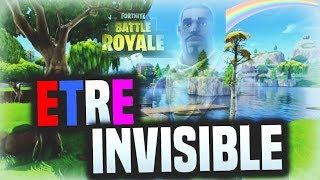 GLITCH (C) Being Invisible on Fortnite unlimited! A Life!!!