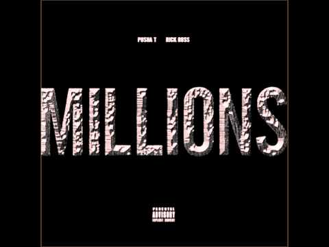 Pusha T ft Rick Ross - Millions (HD)