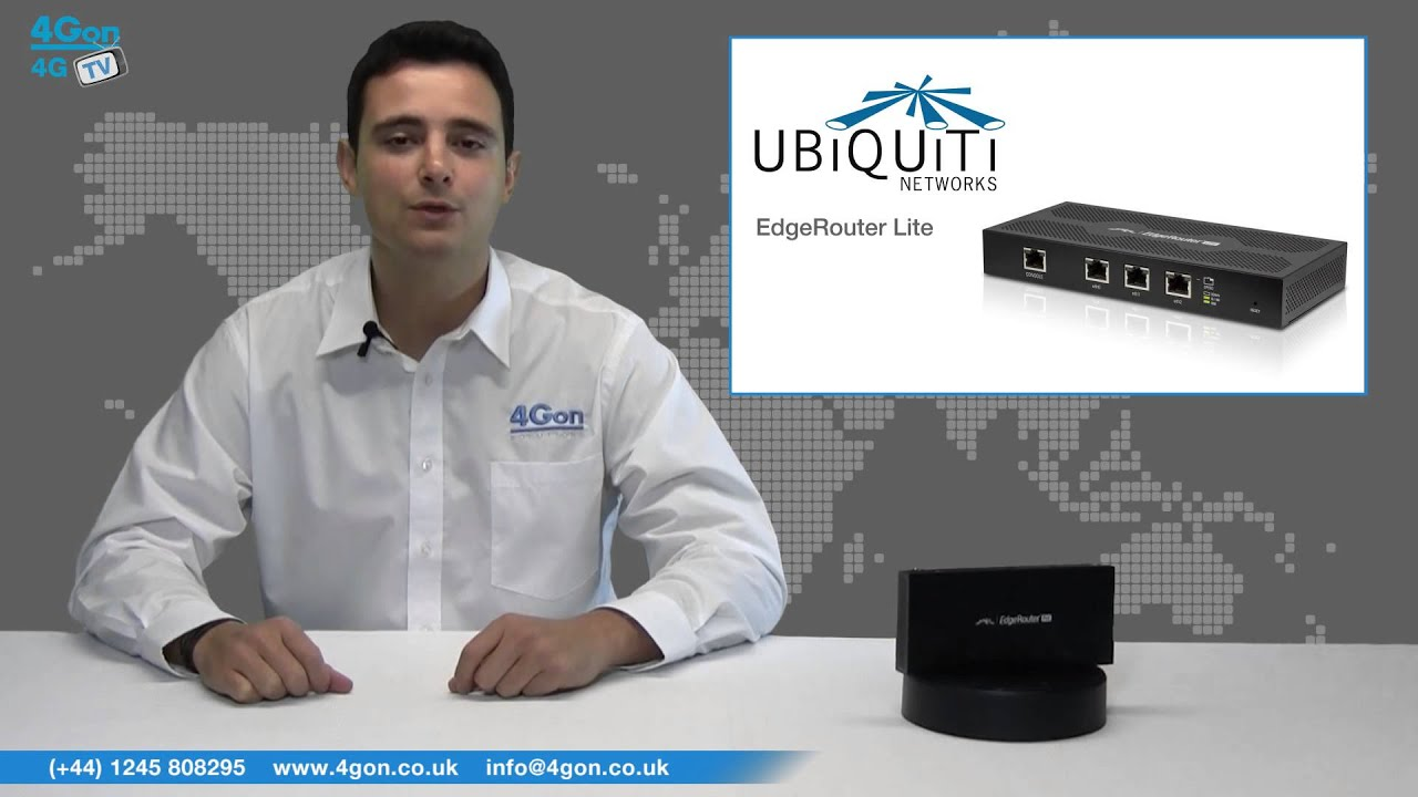 Ubiquiti EdgeMAX EdgeRouter PoE Video Review / Unboxing