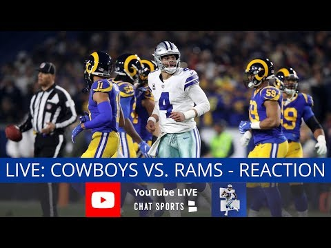 Cowboys vs. Rams Live Stream Reaction & Updates On Highlights From NFL Preseason Week 2