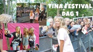 LISA AND LENA ONTMOET EN SUPERVEEL FANS || TINA FESTIVAL DAG 1 || BEAU - TIFULL