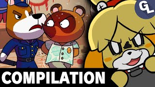 Animal Crossing  Comic Dub Compilation - GabaLeth