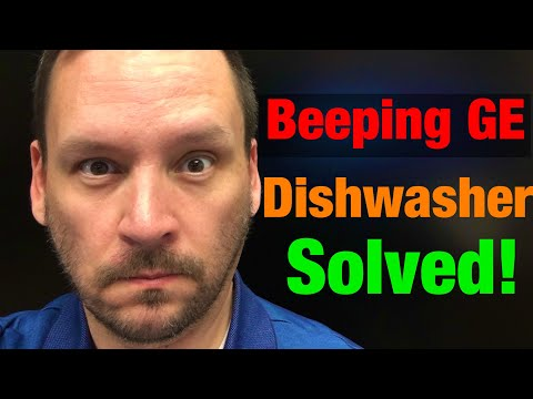 How To Fix The GE Beeping Dishwasher Issue