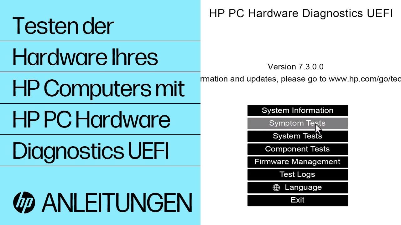 HP PC Hardware Diagnostics | HP Z Workstations