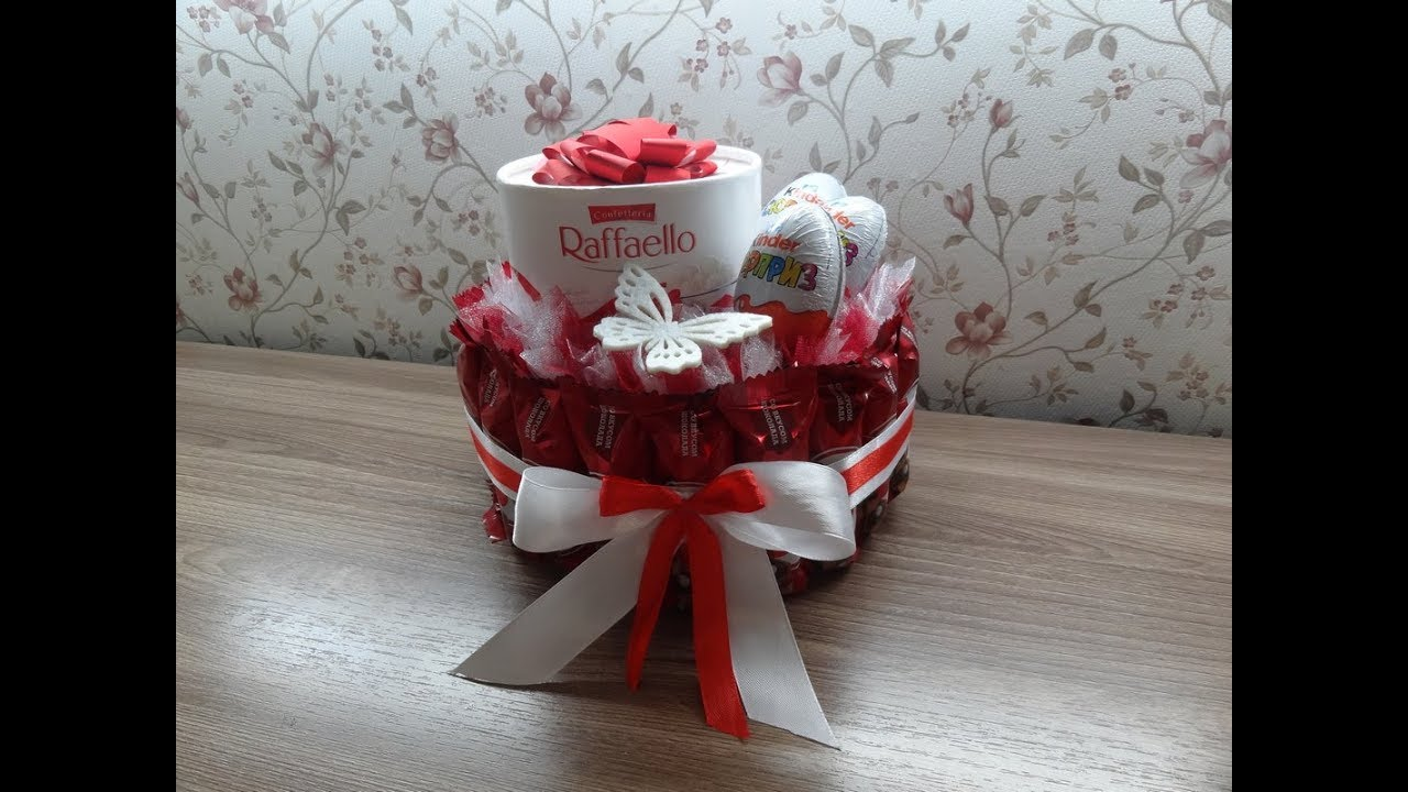 Торт из конфет/Идея для подарка