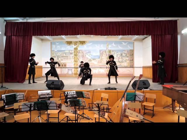 Горский танец. Дагестанский колледж культуры и искусств