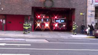 Fdny Engine 54 and Ladder 8 acting 4