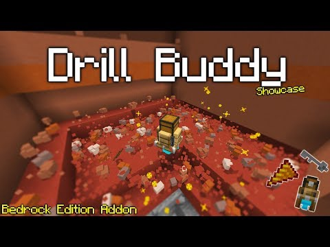 Drill Buddy Addon, Mining Made EASY![Showcase]