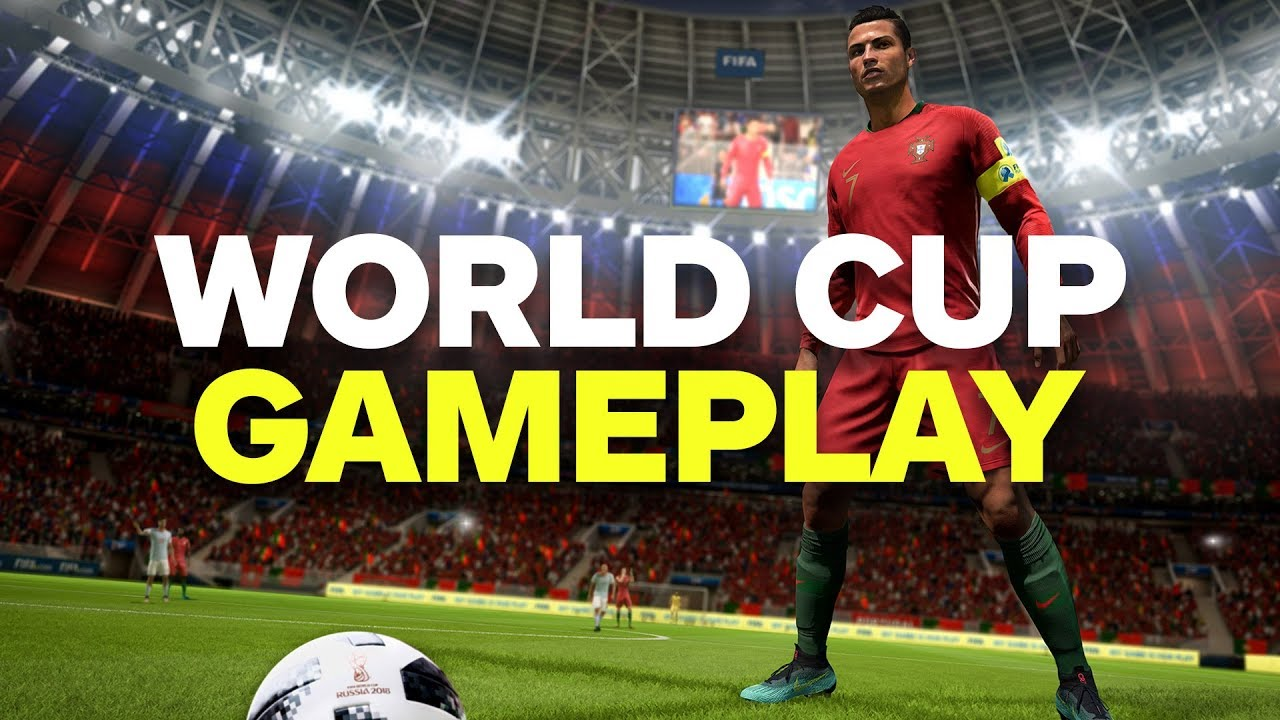 A Full Match Of Fifa  World Cup Update Gameplay