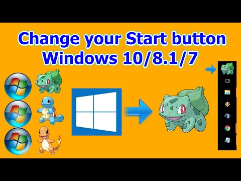 How to change your Start Button! Windows 10 /8 1 /7