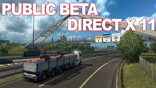 Euro Truck Simulator 2 Beta 1.35 Direct x 11 own trailers