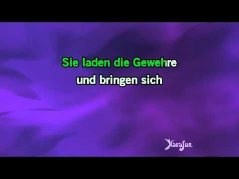 Karaoke Wozu sind Kriege da? - Udo Lindenberg *