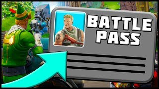 BATTLE PASS EXPLAINED!! Fortnite Battle Royale Christmas Update