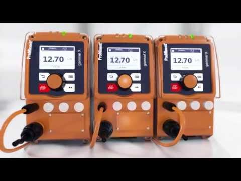 Metering Pump gamma/ X: Intuitive Operation