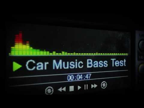 Car Music Bass Test