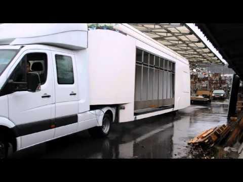 mercedes benz sprinter zugmaschine mit b hnen. Black Bedroom Furniture Sets. Home Design Ideas