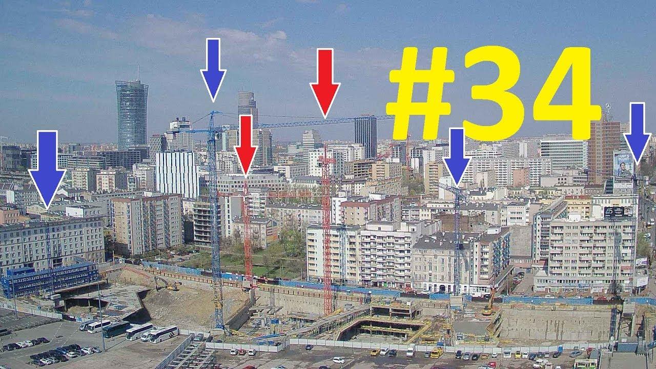 TIMELAPSE #34 - Building Varso Tower 310m - 2018 04 16