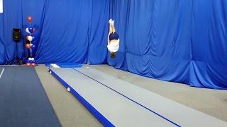 """Акробатика. Прыжки по 2 юношескому разряду, дети старше 9 лет. Звенигород, """"Звезда"""", 11.12.2016"""
