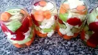 видео Маринование овощей