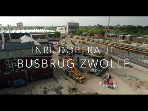 Inrijden busbrug Zwolle