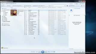 Tecnotutoriales.com - Convertir un CD a MP3 con el Reproductor de Windows Media