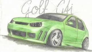 Zeichnungen v. Tuning Autos (Honda, Audi...