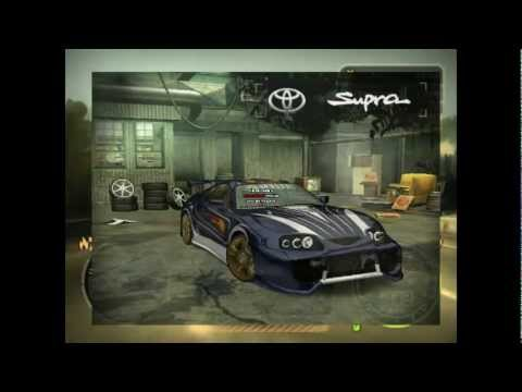 Need for Speed Most Wandet GameCasts #001 Toyota Supra [German] HD