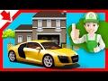 Handy Andy cartoon. Car servicing and repairs Cartoon cars. Car wash game Car body shop Cartoon