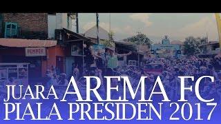 Konvoi Arema (juara Piala Presiden 2017)