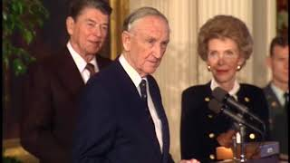 President Reagan's Remarks at the Ceremony for the Medal of Freedom on January 19, 1989