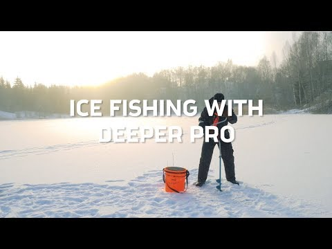 How To Use Deeper PRO Fish Finder For Ice Fishing (Instructional Video 2019)