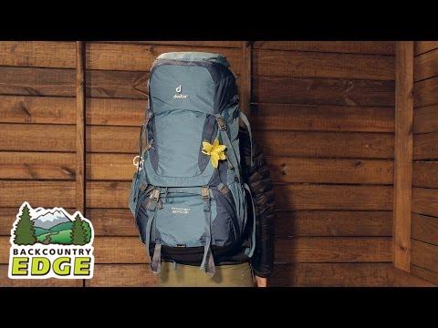c761fb49570e0 Deuter Aircontact 60+10 SL Women s Backpack - YouTube