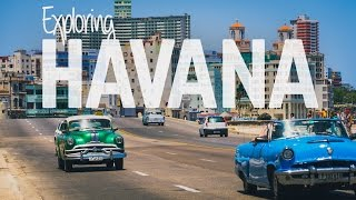 This City is BEAUTIFUL! - Havana Cuba Vlog Day 2
