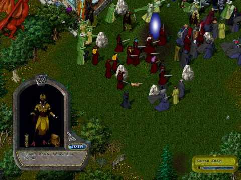 Gargoyle Queen Zhah Visits Britannia Part 1  Ultima Online