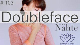 nähen mit Doubleface Stoffen - mit Anna von einfach nähen