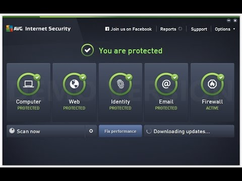 How to install and activate AVG 2016