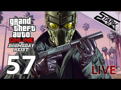 GTA 5 - 57.Rész (Doomsday Heist / 3.Rész) - Stark LIVE