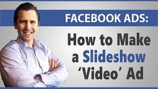 Facebook Ads: لا تريد أن تجعل من الفيديو ؟ جعل عرض الشرائح بدلا من ذلك (بارد البديل)!