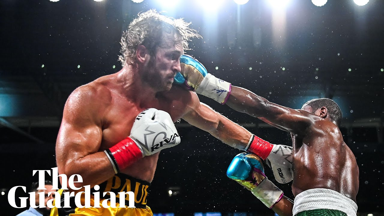 Logan Paul V Floyd Mayweather Ends In Boos As Each Fighter Makes Millions Floyd Mayweather The Guardian